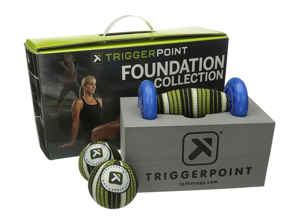 TriggerPoint Deep Tissue Essentials Foundation Collection No Color Athletic Sports Equipment