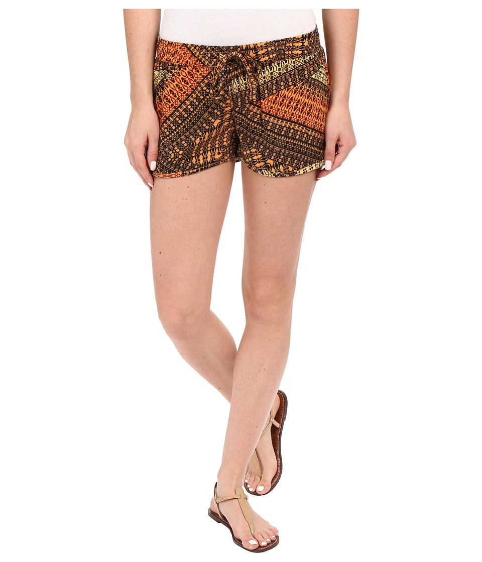 Hurley Beachrider Woven Shorts Bright Mango Womens Shorts