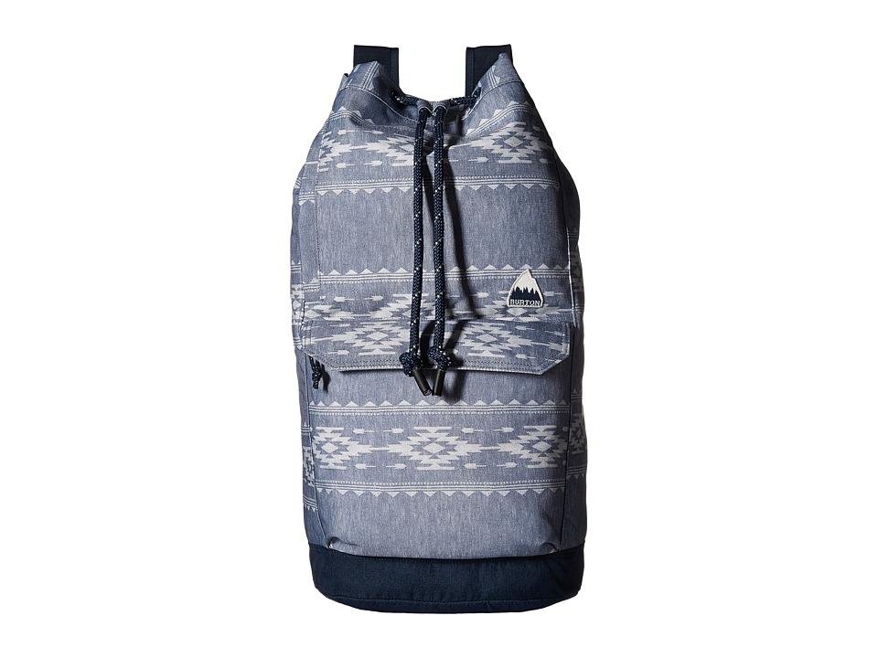 Burton Frontier Backpack Famish Stripe Backpack Bags