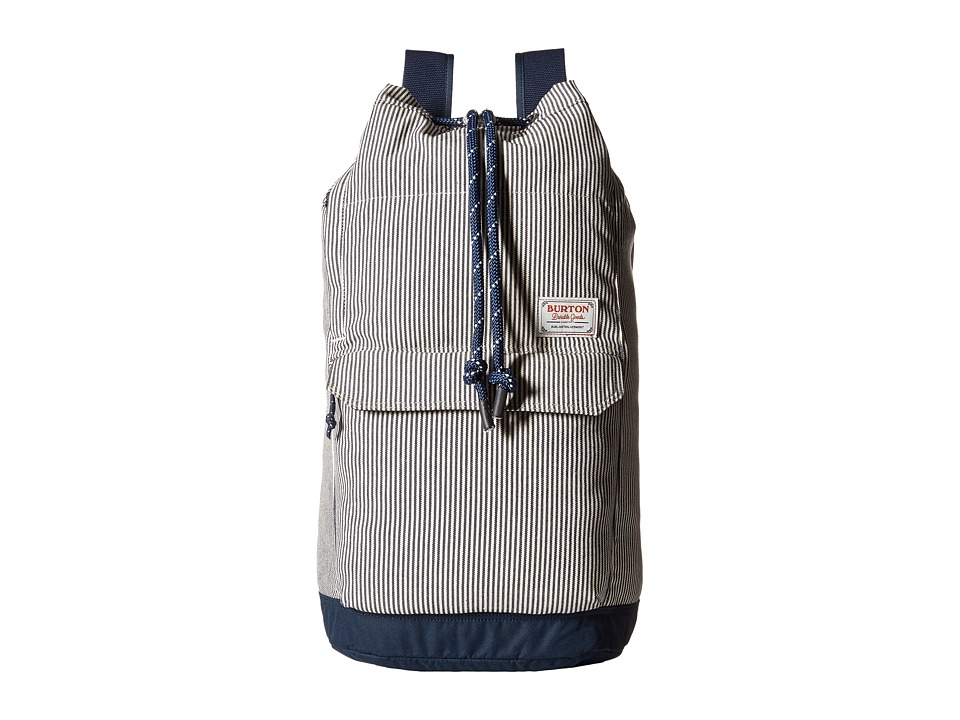 Burton Frontier Backpack Ticking Stripe Backpack Bags