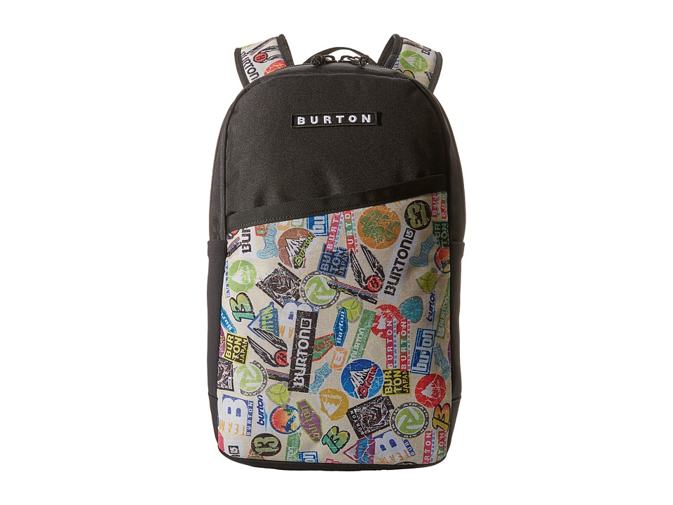 Burton Apollo Backpack Sticker Print Backpack Bags