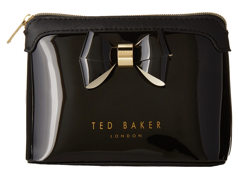 Ted Baker Harloe Black Toiletries Case