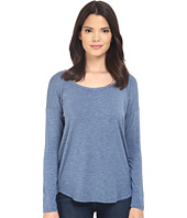 Splendid - Heathered Spandex Jersey Long Sleeve