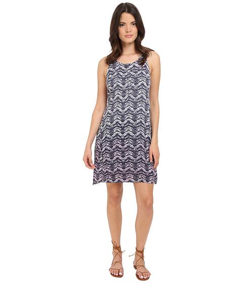 Splendid Zigzag Ombre Dress