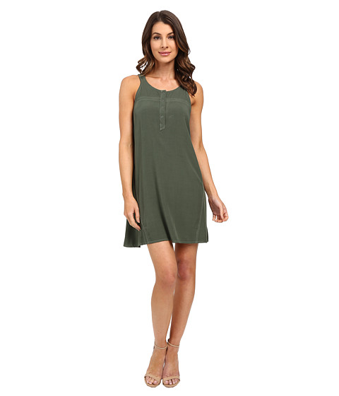 Splendid - Rayon Voile Dress (Sunrise) Women's Dress