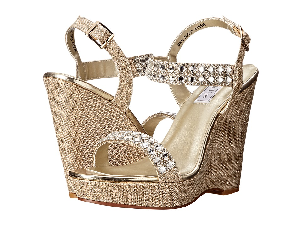 Touch Ups Brynn Gold Shimmer Womens Shoes