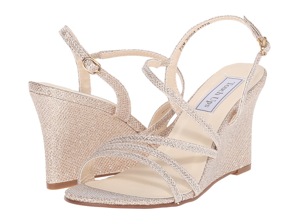 Touch Ups Paige Champagne Shimmer Womens Shoes
