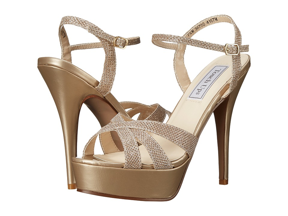 Touch Ups Cori Champagne Shimmer Womens Shoes