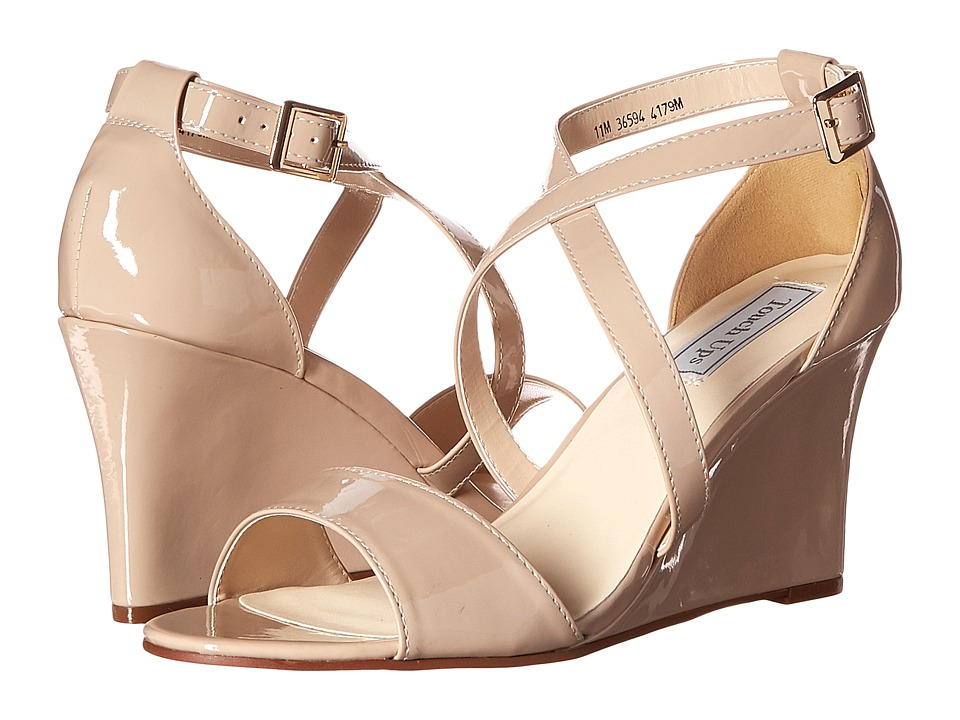 Touch Ups Jenna Nude Patent Womens Shoes