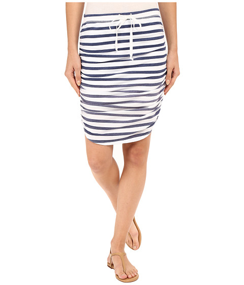 Splendid Sunfaded Stripe Jersey Skirt