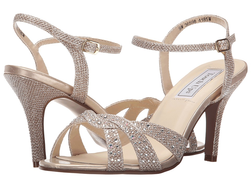 Touch Ups Dulce Champagne Shimmer Womens Shoes