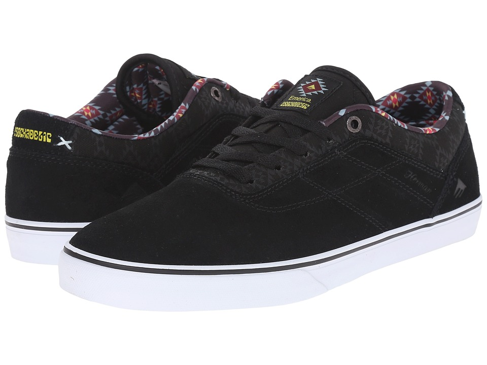 Emerica - The Herman G6 Vulc X Psockadelic (Black/Print) Men