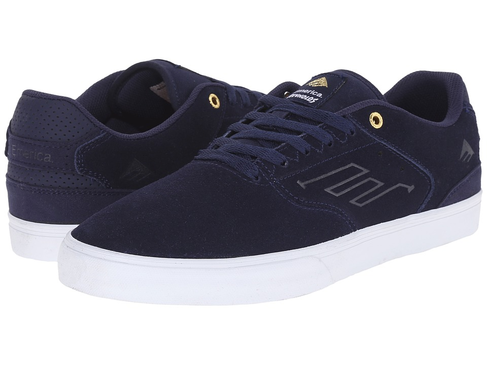 Emerica - The Reynolds Low Vulc (Navy/White/Gold) Men