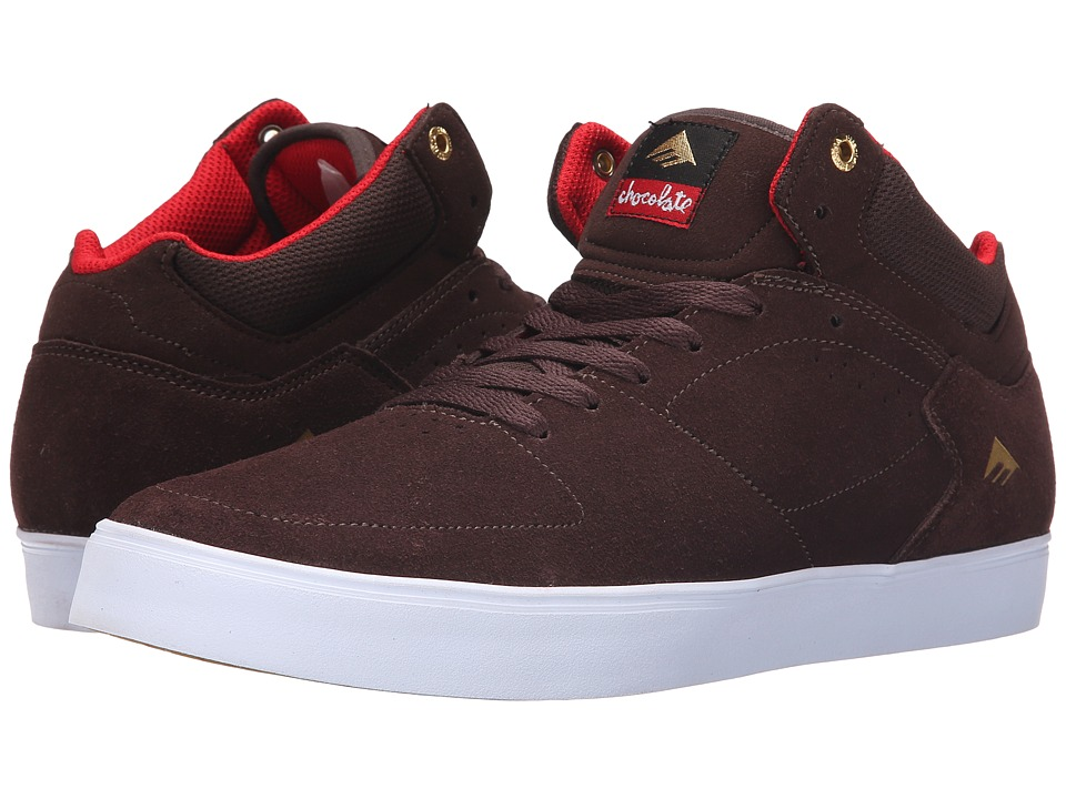 Emerica - The Hsu G6 X Chocolate (Brown/White) Men