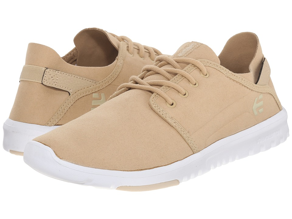 etnies Scout Taupe Mens Skate Shoes