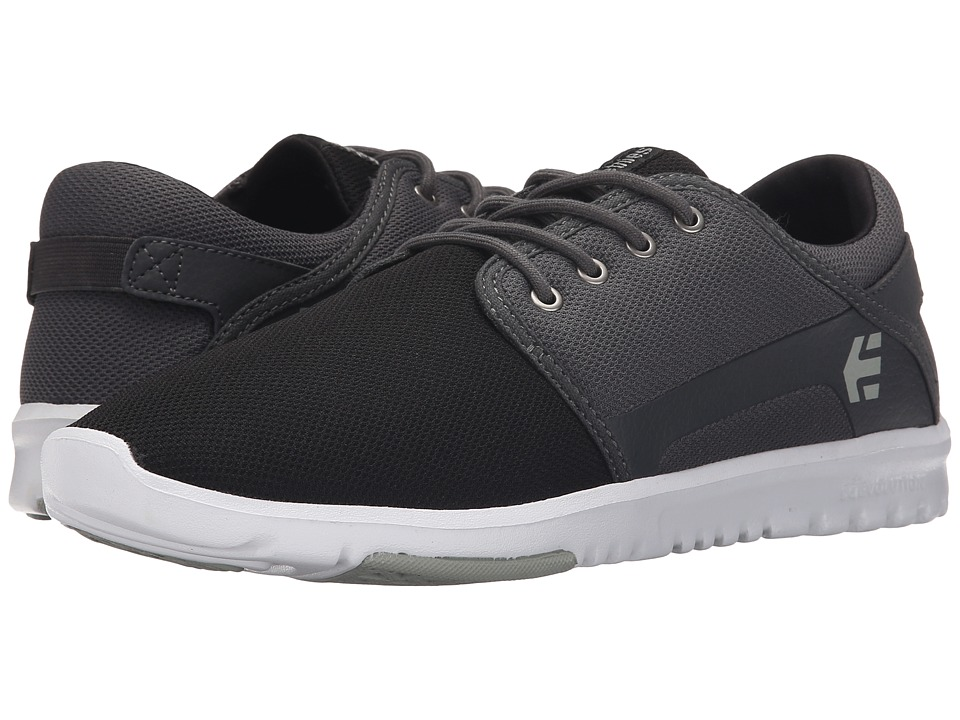 etnies - Scout (Black/Dark Grey/Silver) Men