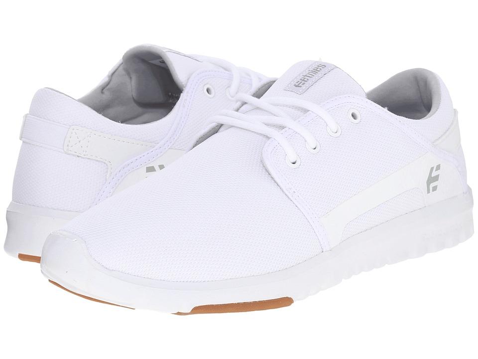 etnies Scout White/Gum Mens Skate Shoes