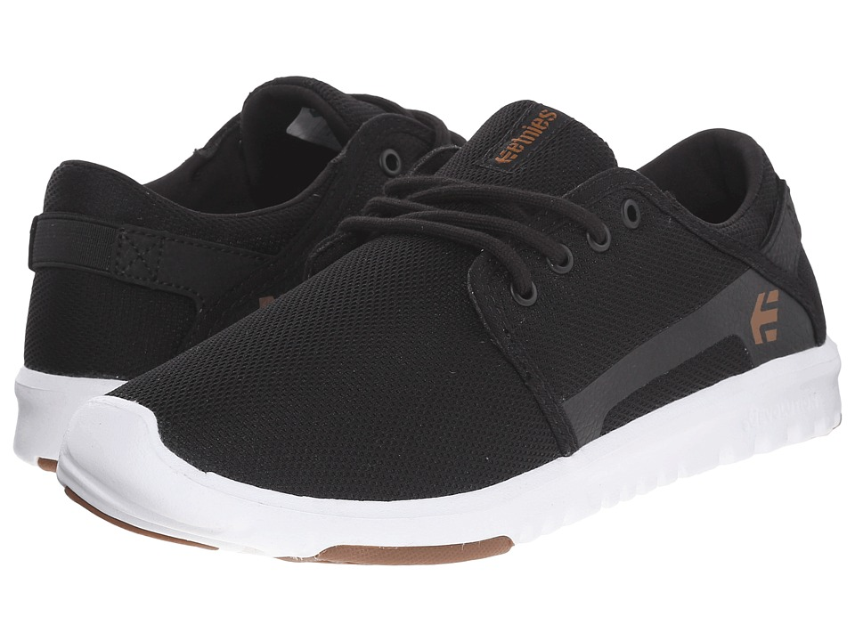 etnies Scout W (Black/White/Gum) Women