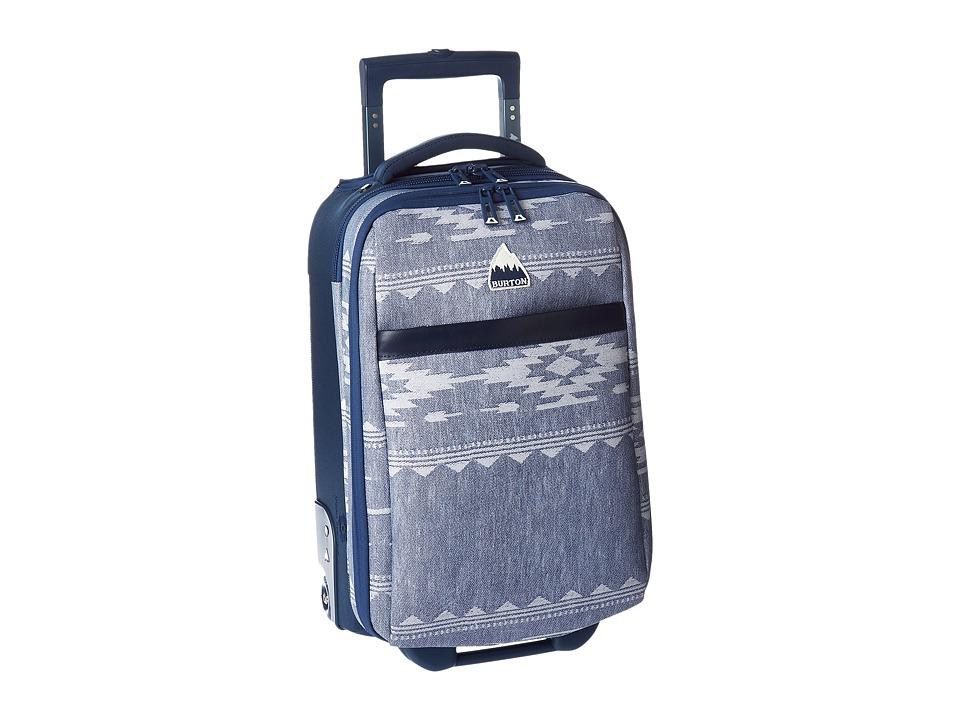Burton - Wheelie Flyer (Famish Stripe) Carry on Luggage