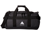 Burton Backhill Duffel Bag Small 40L (Black Polka Dot Tarp)