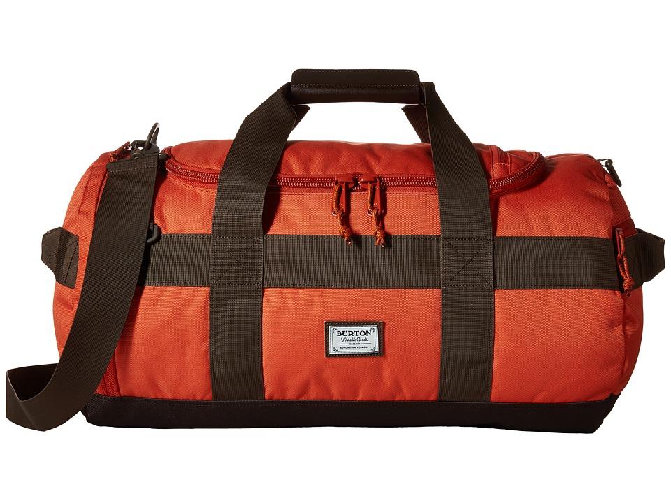 Burton Backhill Duffel Bag Small 40L Burnt Ochre Duffel Bags