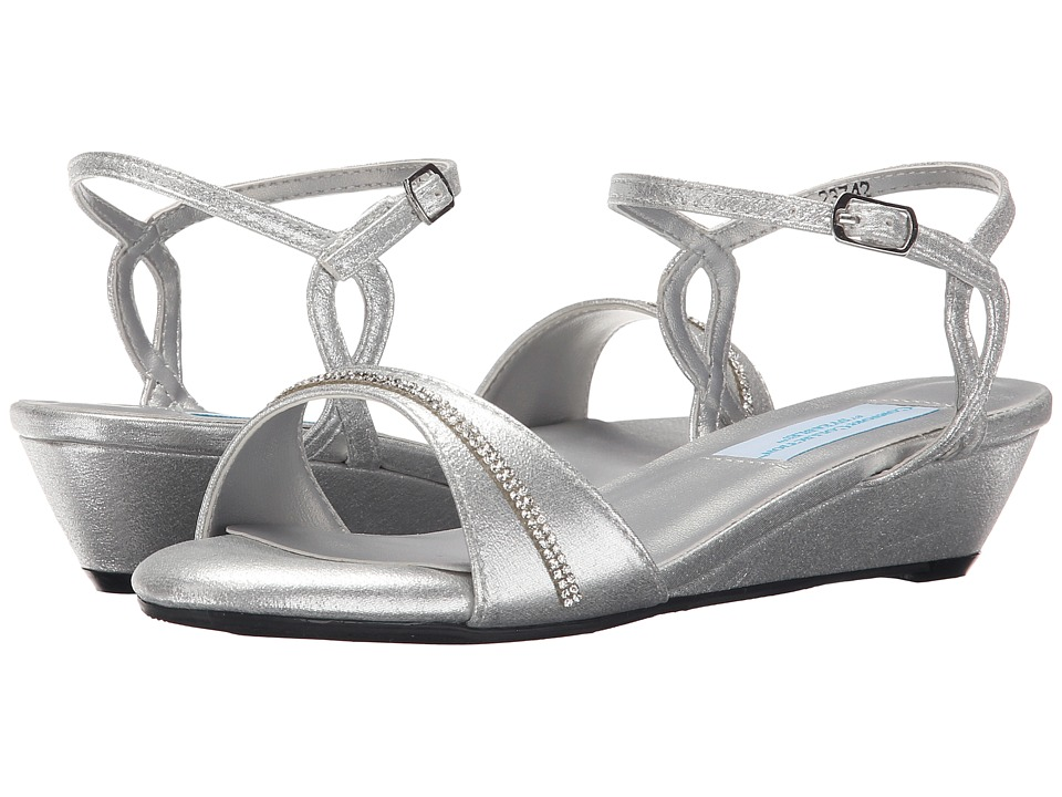 Touch Ups Mallory Silver Shimmer Womens Shoes