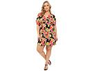 LAUREN Ralph Lauren Plus Size Brilliant Floral Farrah Dress Cover-Up