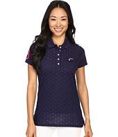U.S. POLO ASSN. - Pique Woven Eyelet Pocket Polo Shirt