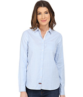 U.S. POLO ASSN. - Long Sleeve Oxford Solid and Dot Shirt