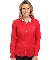 U.S. POLO ASSN. - Solid Woven Top