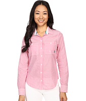 U.S. POLO ASSN. - Multi Stripe Long Sleeve Two Pocket Woven Shirt
