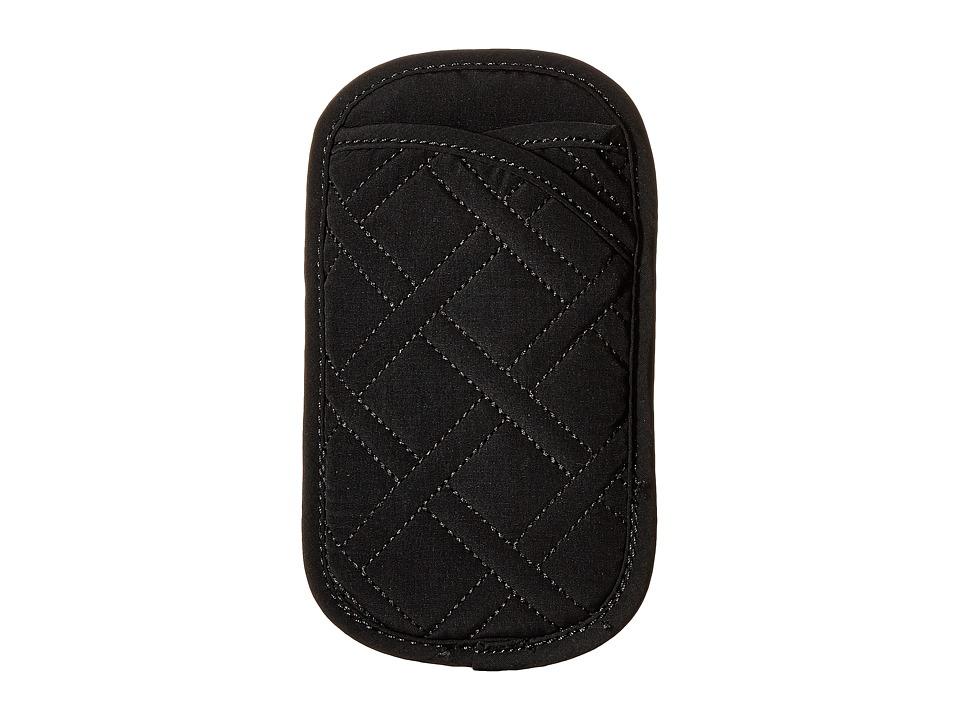 Vera Bradley - Double Eye Case (Classic Black) Wallet
