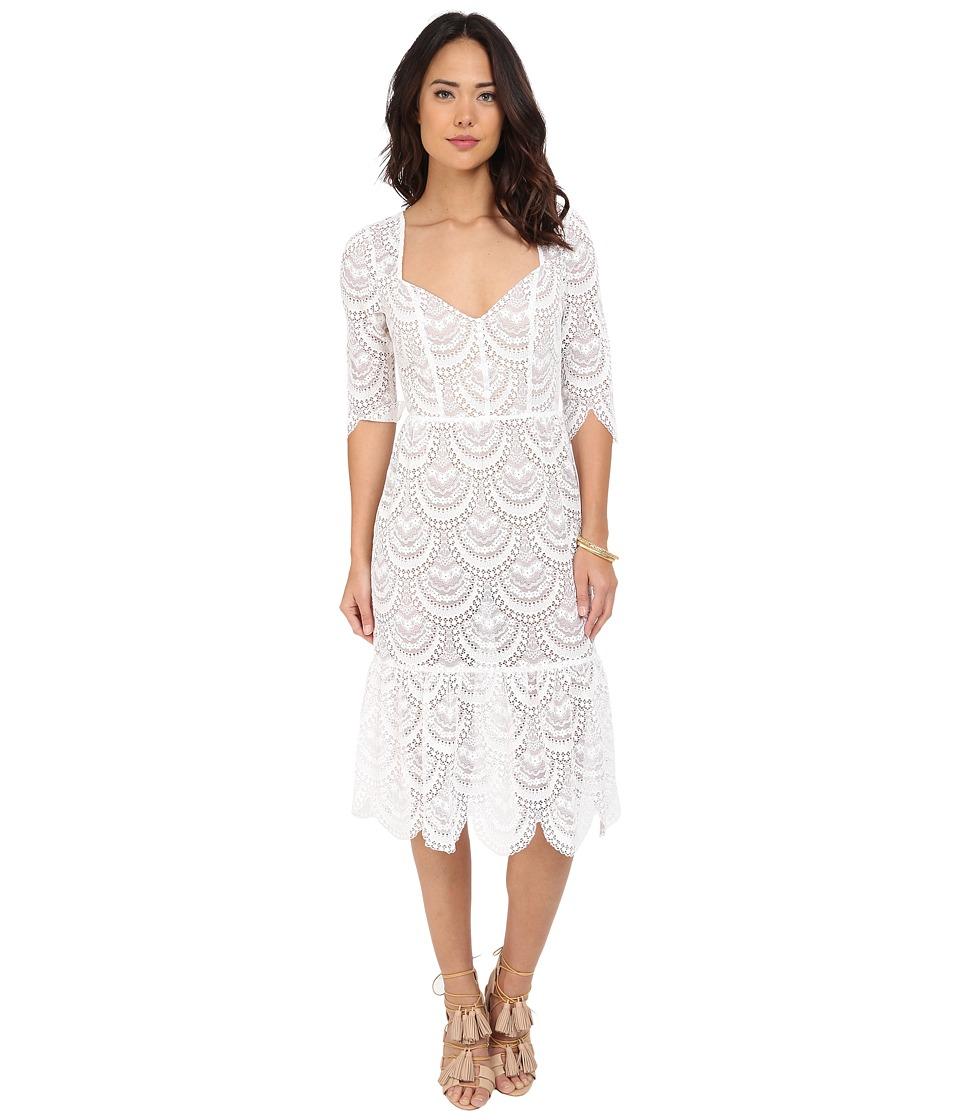 For Love and Lemons Rosalita Dress White Womens Dress