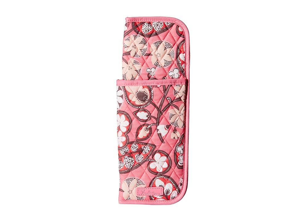Vera Bradley Curling Flat Iron Cover Blush Pink Handbags