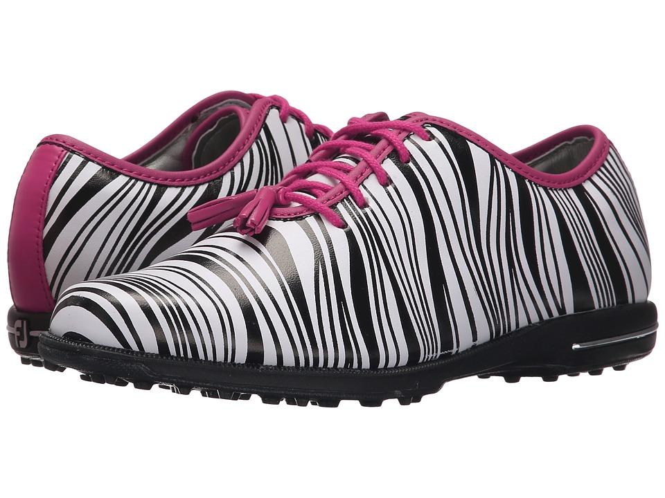FootJoy Tailored Collection (Zebra/Fuchsia) Women