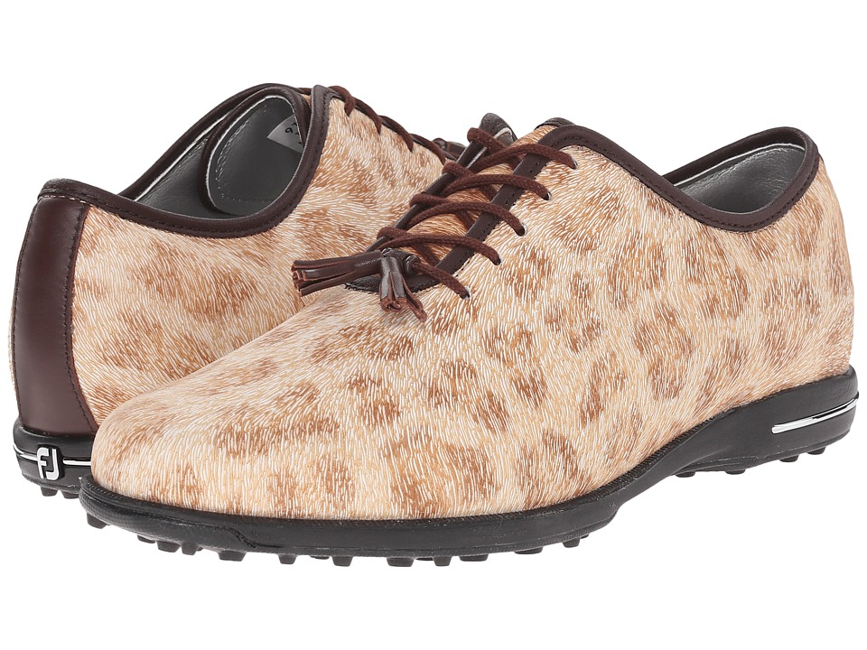 FootJoy - Tailored Collection (Cheetah/Dark Brown) Women