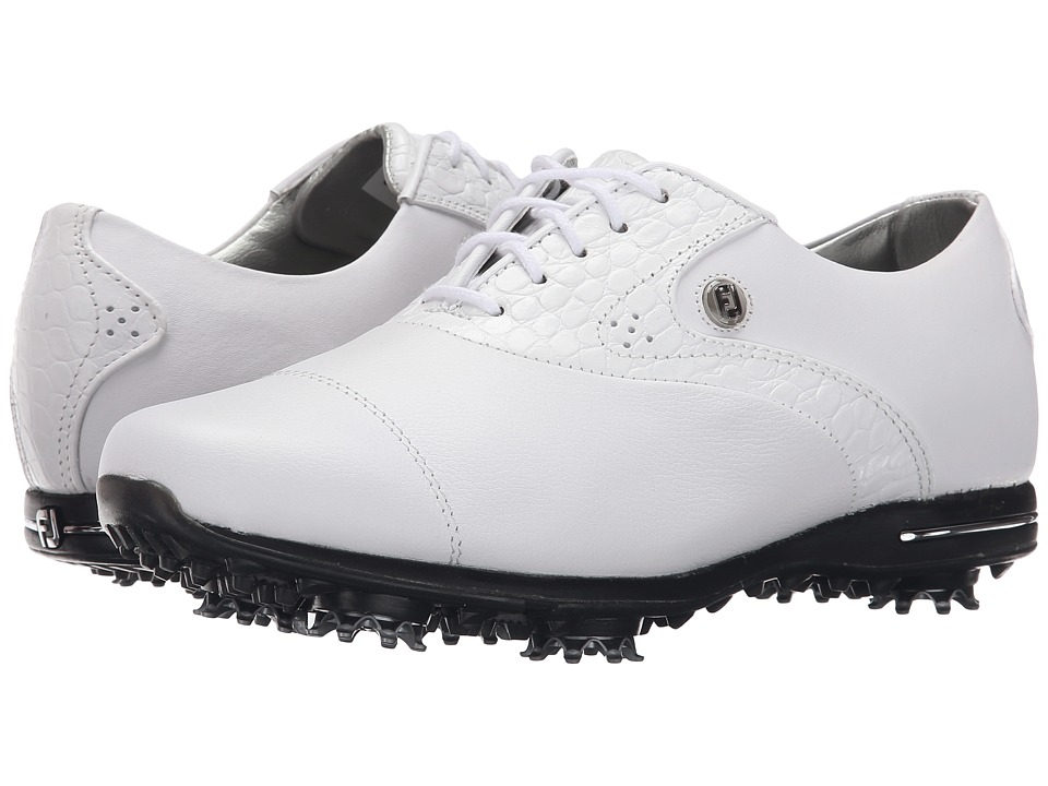 FootJoy - Tailored Collection (White/White) Womens Golf Shoes