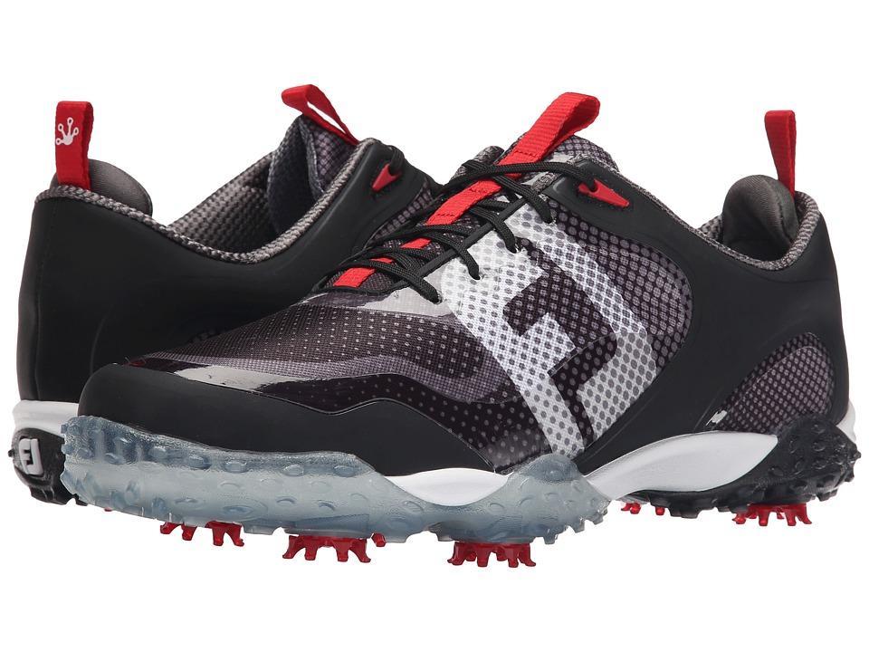 FootJoy - Freestyle (Black/White/Dark Grey) Mens Golf Shoes