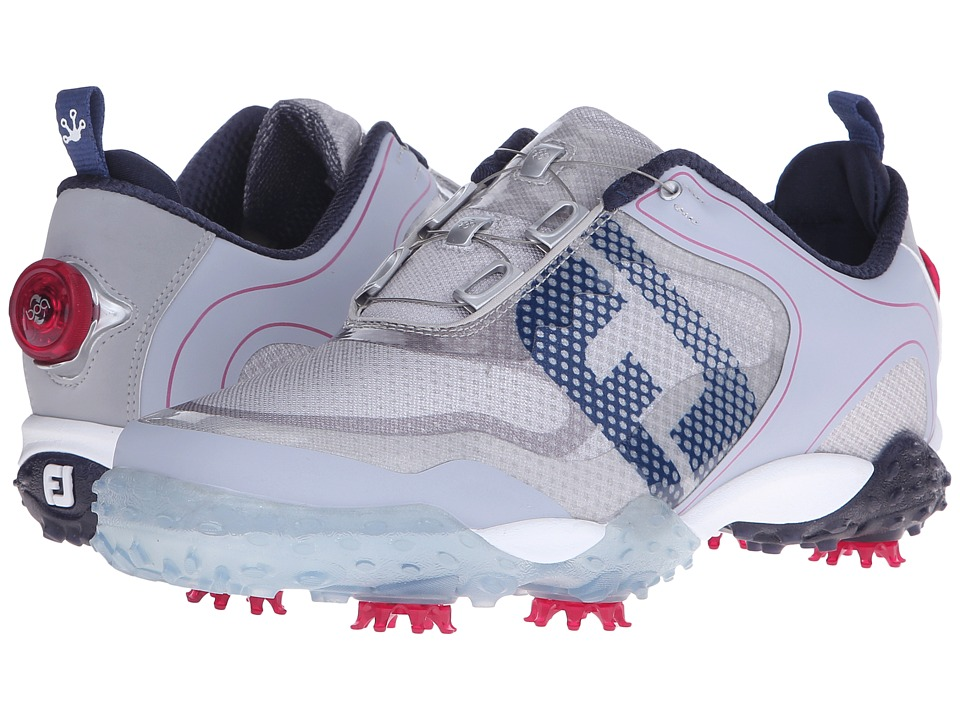 FootJoy - Freestyle (Light Grey/Navy/Berry) Mens Golf Shoes