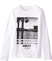 Hurley Kids - Not Going Out There Short Sleeve Tee (Big Kids)
