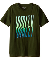 Hurley Kids - Wavey Type Tee (Big Kids)