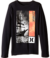 Hurley Kids - Out To Sea Long Sleeve Tee (Big Kids)