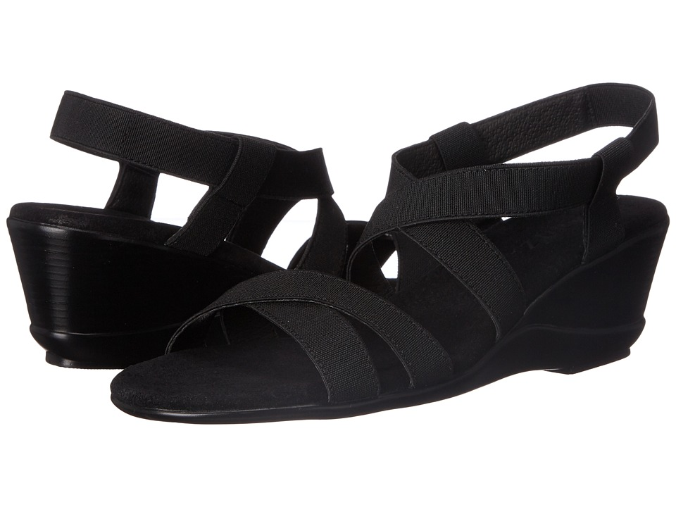 Vivanz Candice Black Womens Dress Sandals