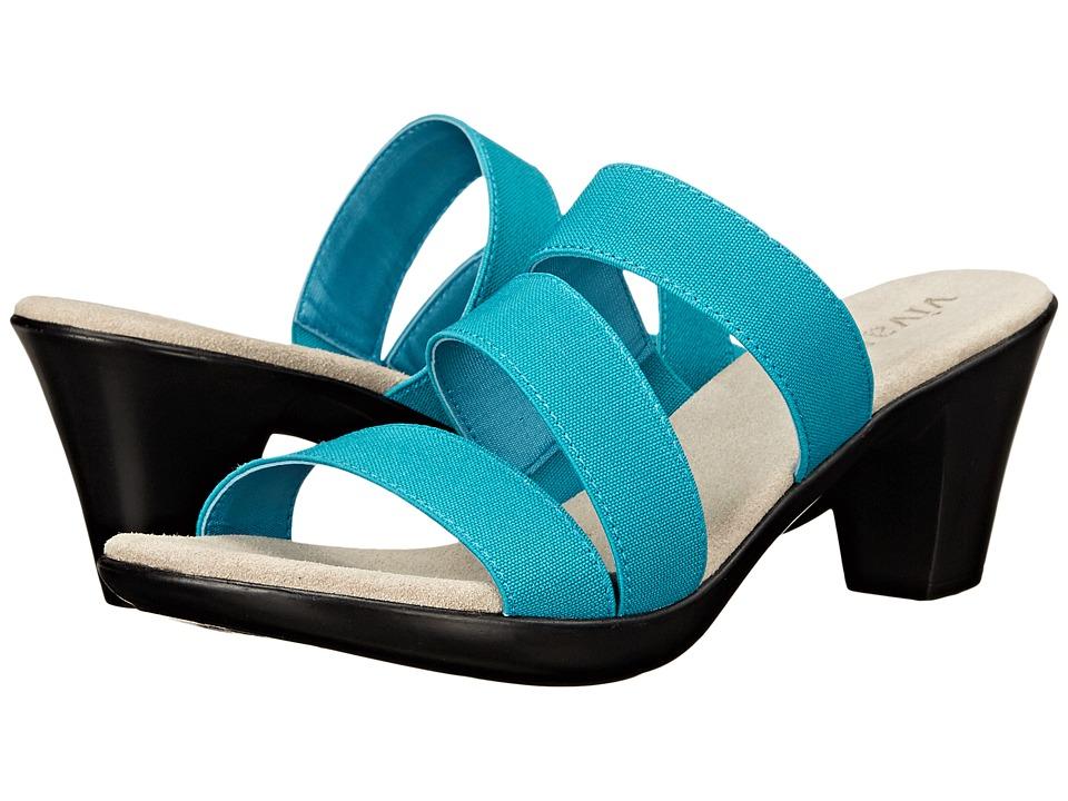 Vivanz Leia Turquoise Womens Sandals