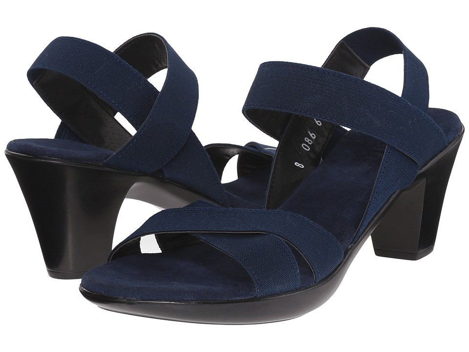 Vivanz Lily Navy Womens Sling Back Shoes