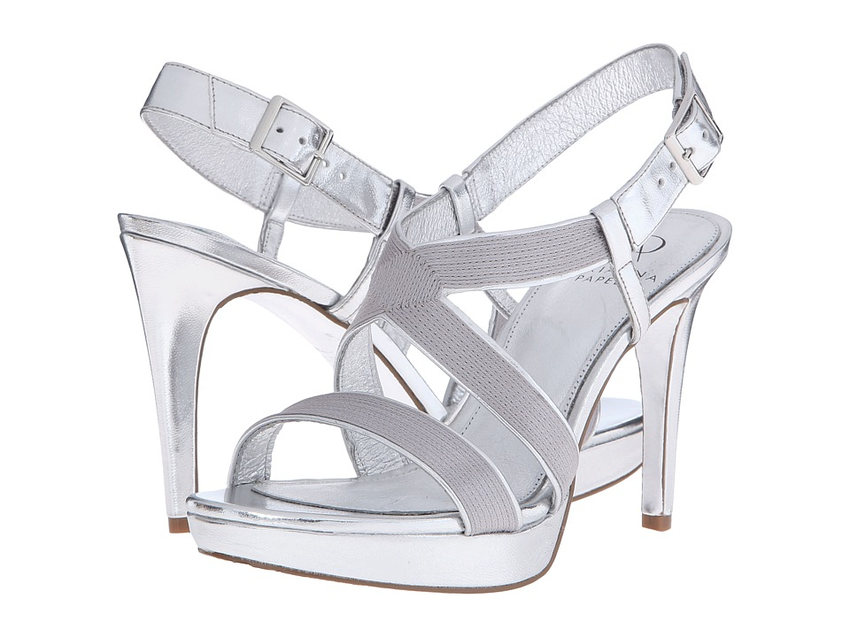 Adrianna Papell Anette Silver High Heels