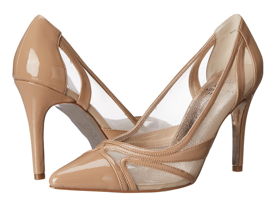 Adrianna Papell Amal Nude Patent High Heels