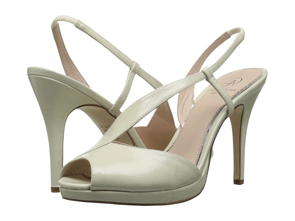 Adrianna Papell Gemini Pearl Patent Leather High Heels