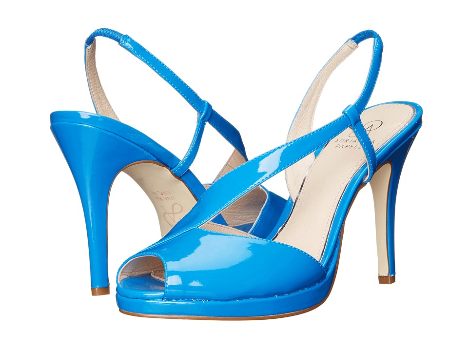 Adrianna Papell Gemini Sky Patent Leather High Heels