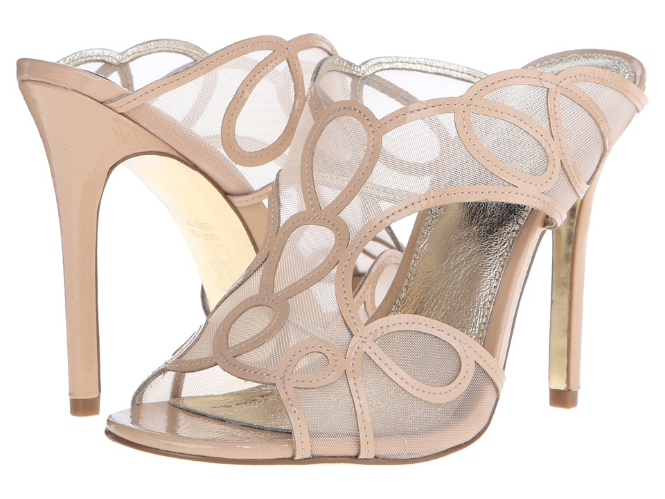 Adrianna Papell Glam Cafe Au Lait Patent High Heels